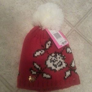 Betsy Johnson Christmas hat new